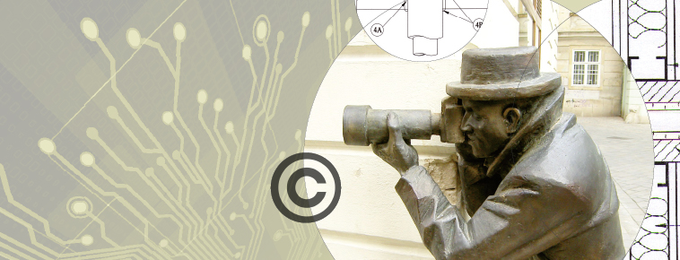 Circuit board, Copyright, Patents, Photographer