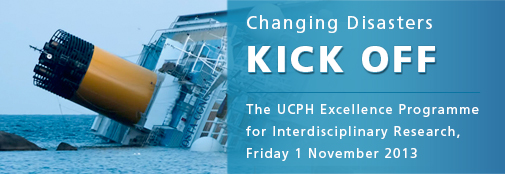 Changing Disasters: Kick Off