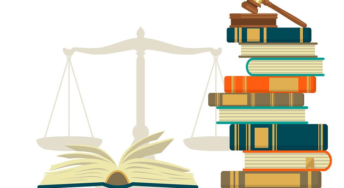 Jura vægt og bøger