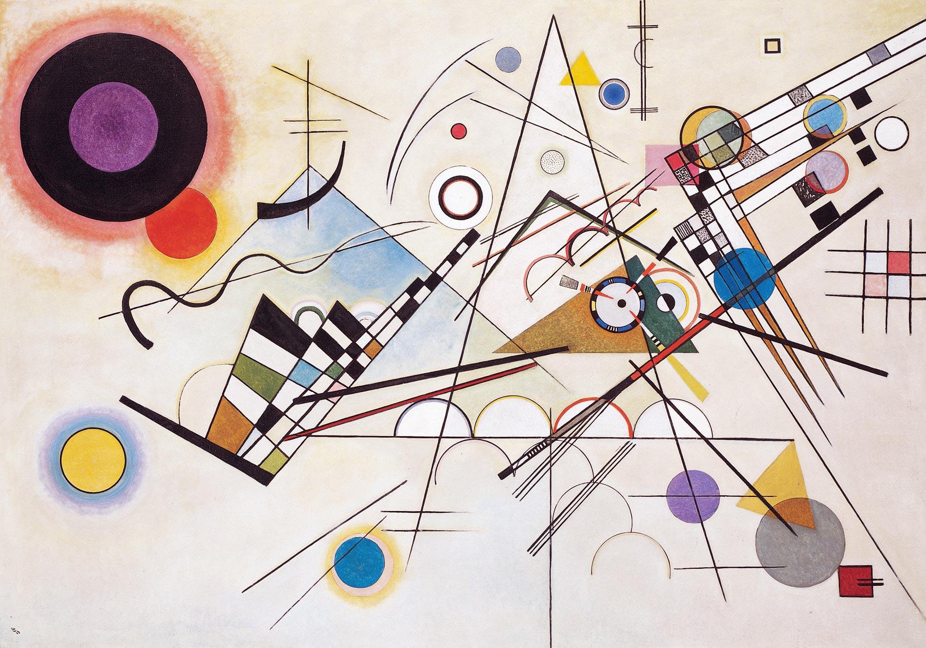 Wassily Kandinsky, Composition VIII (1923)